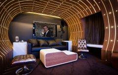 满足你的主角梦 法国巴黎Le Seven电影主题酒店